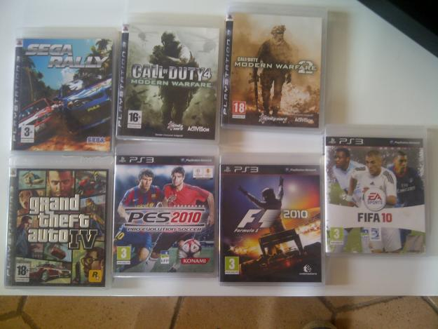 JEUX PLAYSTATION 3 PS3 Warfare 2Call Of Grand Theft Auto BOITES ORIGINE SEP2010FIFA